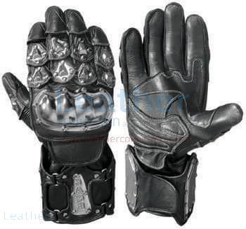 Bandit Black Moto Gloves