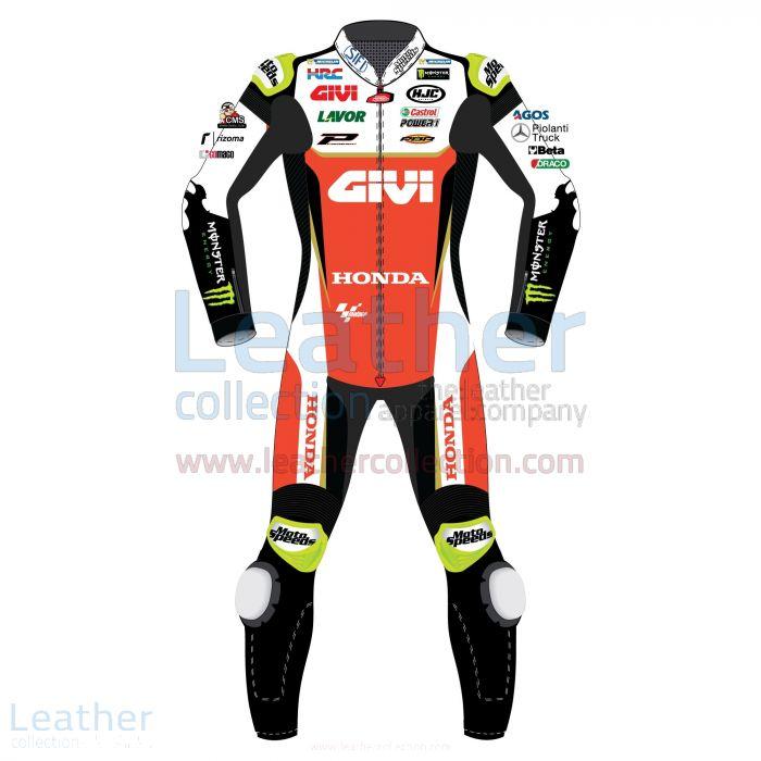 Cal Crutchlow LCR Honda 2019 MotoGP Leather Suit Front View