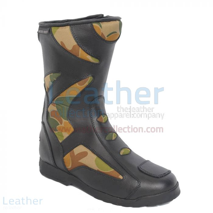 Camo Riding Boots