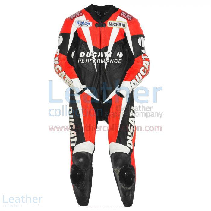 Carl Fogarty Ducati WSBK 1998 Leathers front