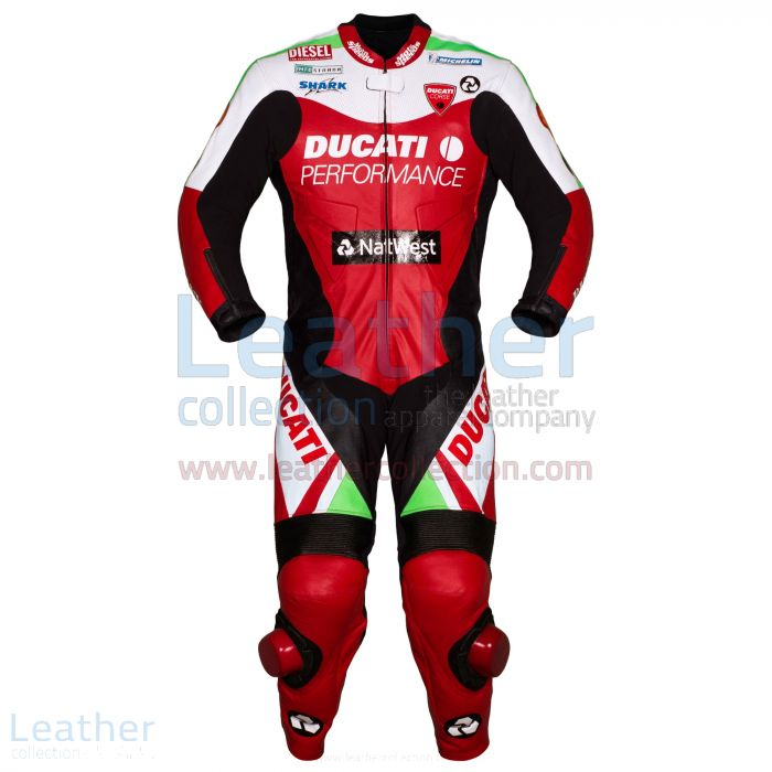 Carl Fogarty Racing Suit Ducati WSBK 1999 Front View