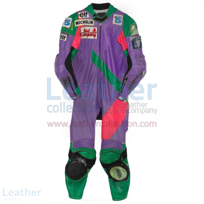 Carl Fogarty Honda WSBK 1990 Racing Suit front view