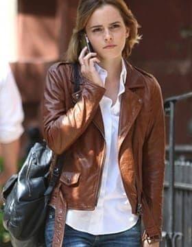 Female Celebrity Leather Jackets
