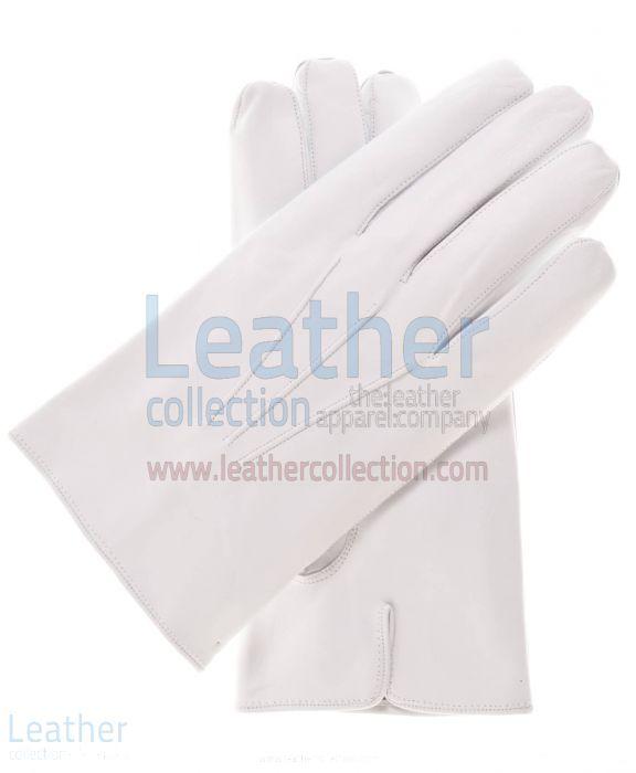 Crust Lambskin Fashion Gloves upper view