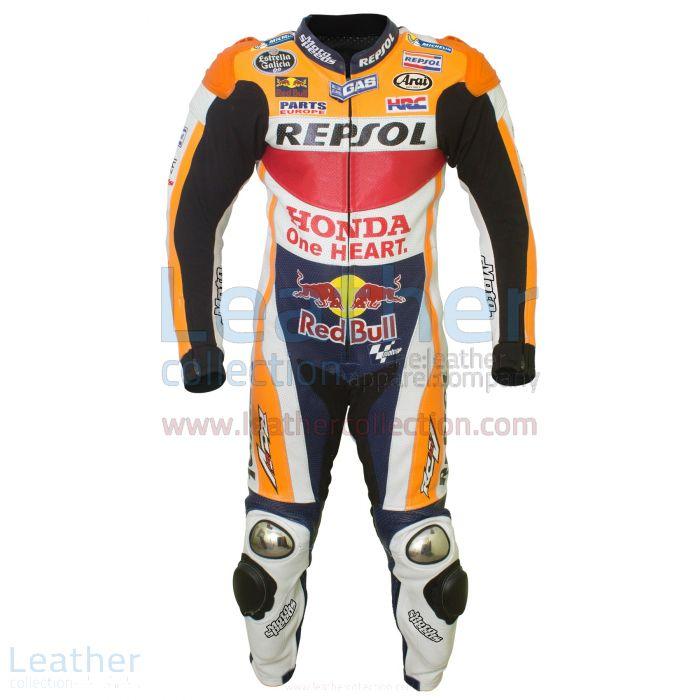 Dani Pedrosa HRC Honda Repsol MotoGP 2016 Suit front view