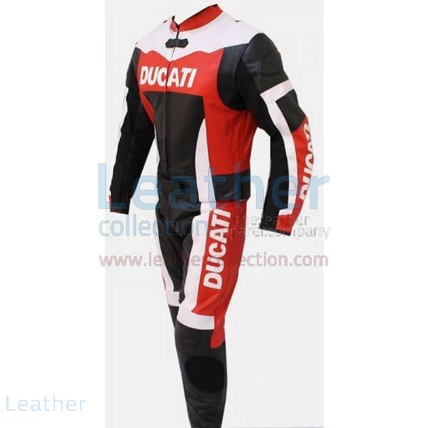 Ducati Motorbike Leather Suit front view