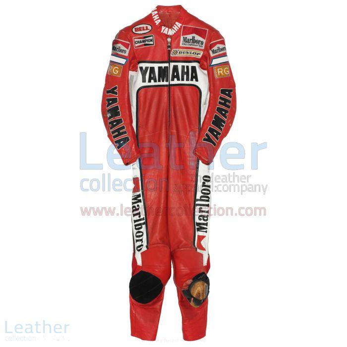 Eddie Lawson Marlboro Yamaha GP 1988 Leathers front view