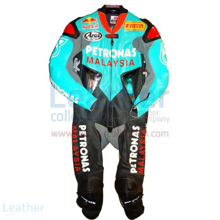 Garry McCoy Replica Petronas GP 2005 Leather Suit front view