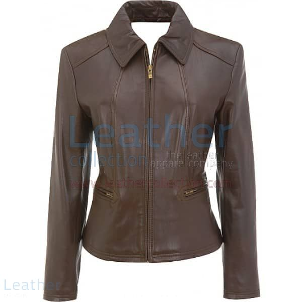Gorgeous Leather Jackets for Ladies Front View