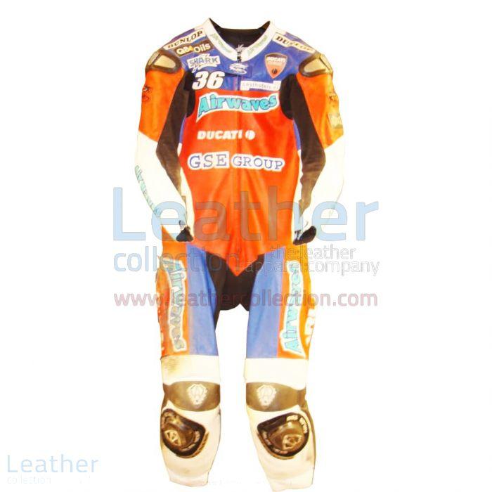 Gregorio Lavilla Ducati BSB 2005 Race Suit front view