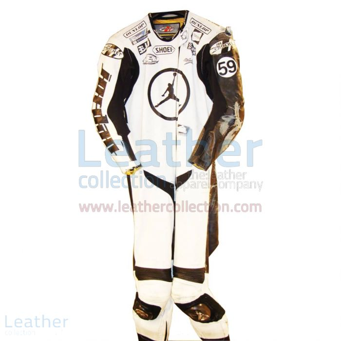 Jake Holden Suzuki AMA 2006 Leather Suit front view