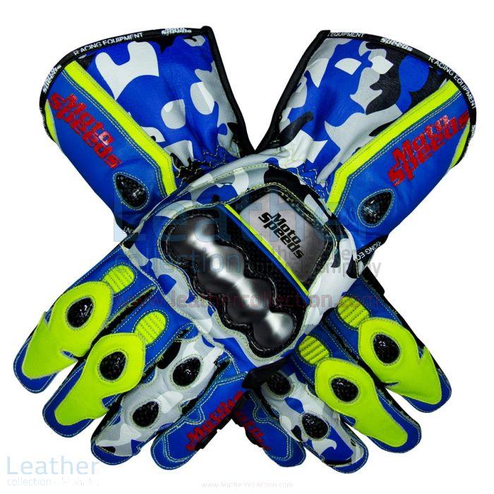 Joan Mir Replica Gloves 2019 MotoGP upper view
