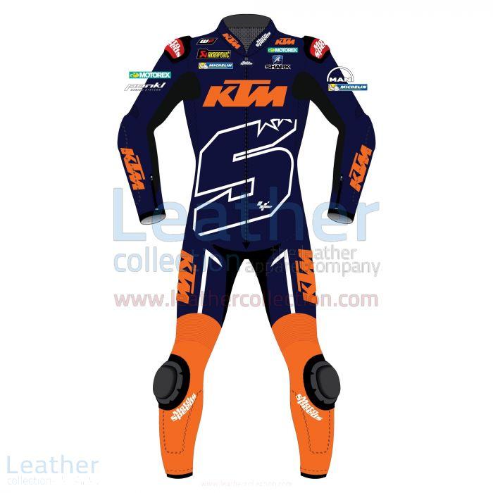Johan Zarco Jerez Test 2018 Motorcycle Suit front view