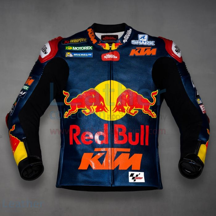 Johan Zarco Red Bull KTM MotoGP 2019 Racing Jacket front view