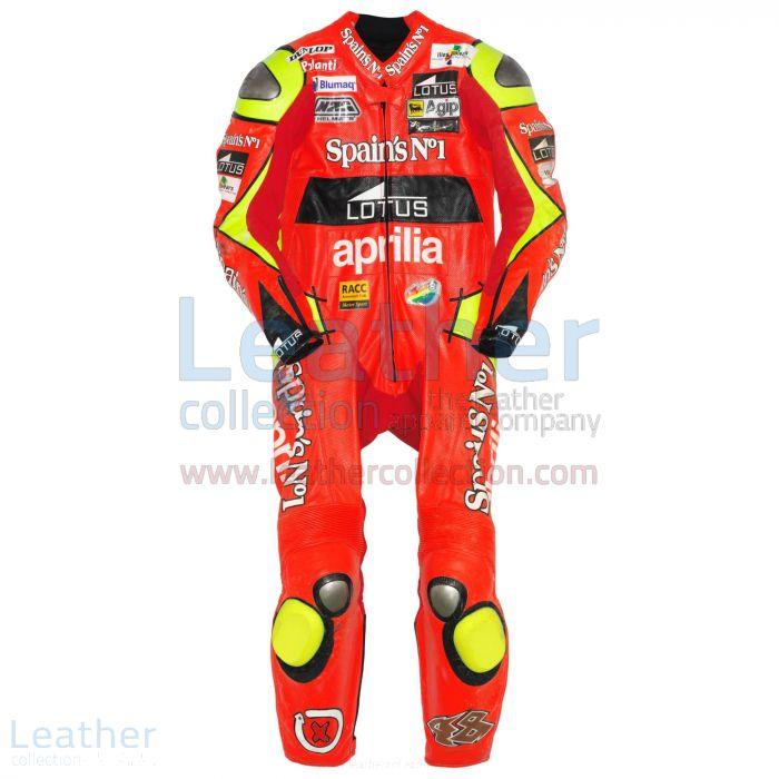 Jorge Lorenzo Aprilia GP 2006 Leathers front view