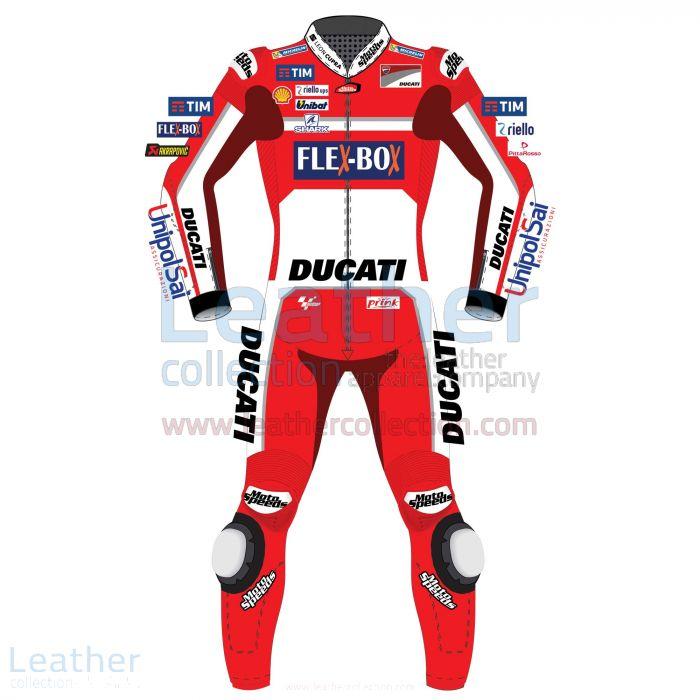 Jorge Lorenzo Ducati MotoGP 2017 Race Suit Front View