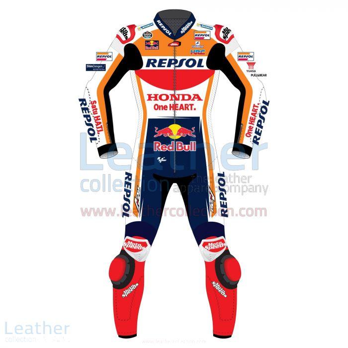 Jorge Lorenzo Honda Repsol Motogp 2019 Race Suit front view
