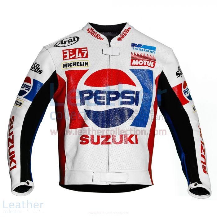 Kevin Schwantz Pepsi Suzuki GP 1988 Motorbike Jacket front view
