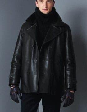 Leather Peacoats