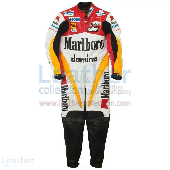 Loris Capirossi Honda GP 1995 Racing Suit front view