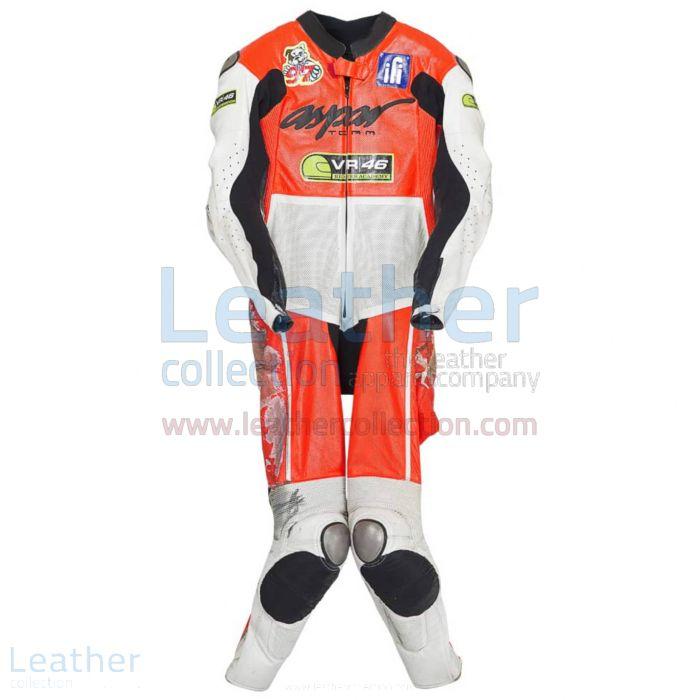 Luca Marini 2014 CEV Motorbike Leathers front