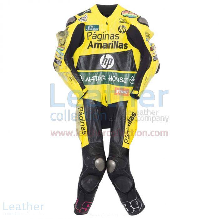 Luis Salom 2014 Cuero Moto frente