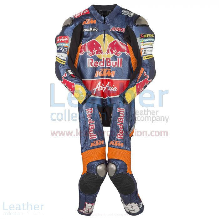 Luis Salom KTM 2013 Leather Suit front view