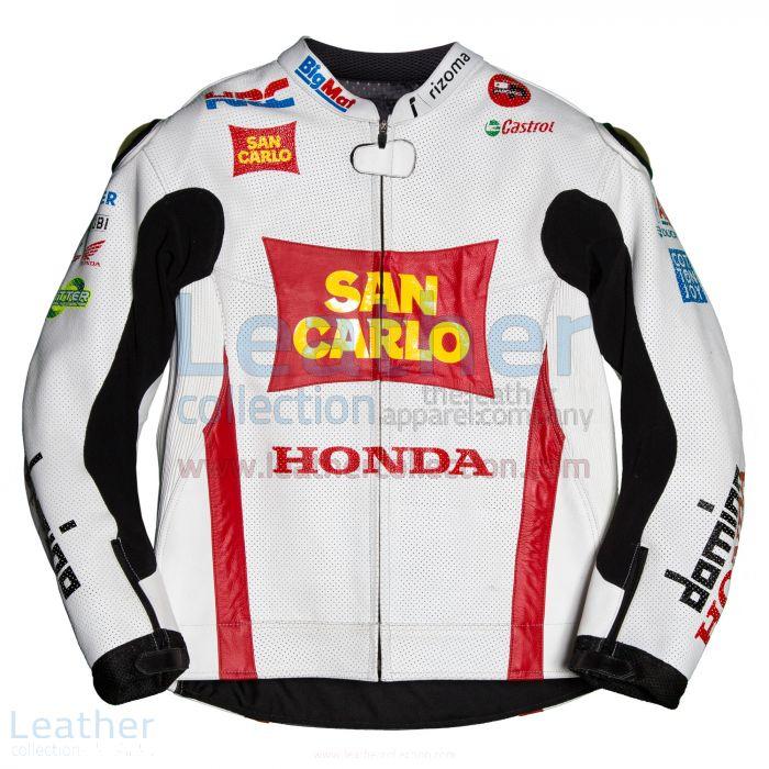 Marco Simoncelli Honda 2011 MotoGP Jacket front view