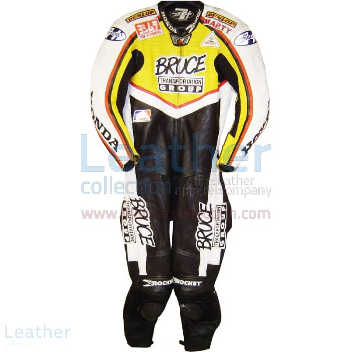 Marty Craggill Honda AMA 2003 Race Suit front view