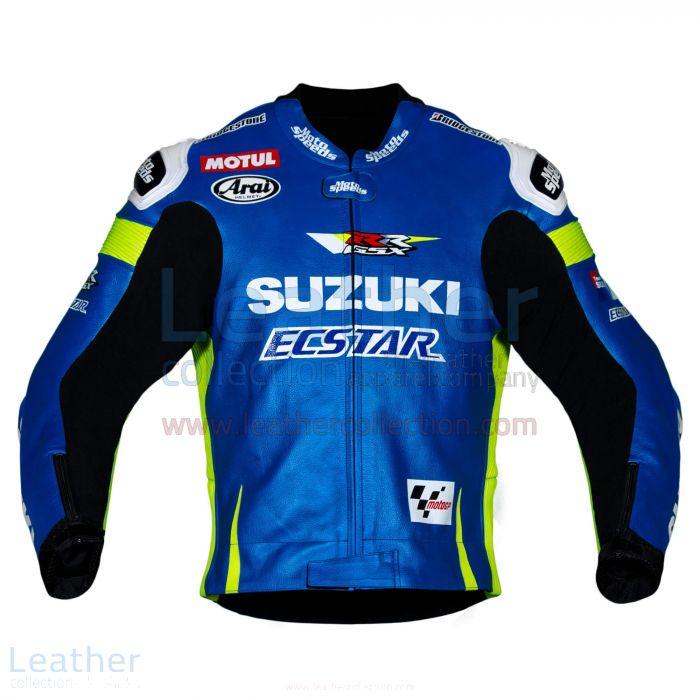 Maverick Vinale Suzuki MotoGP 2015 Jacket front view