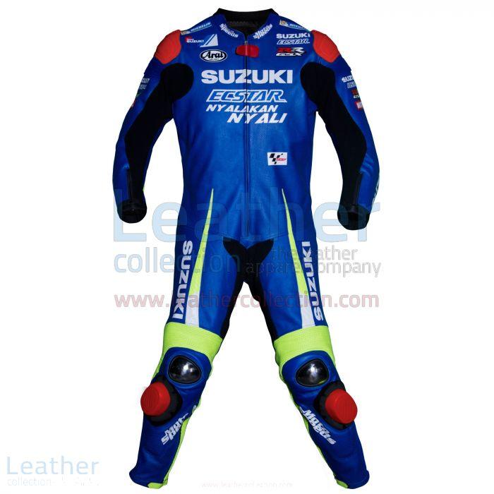 Maverick Vinales Suzuki MotoGP 2016 Race Suit front