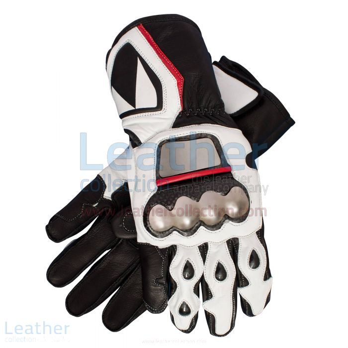 max biaggi motorcycle race gloves