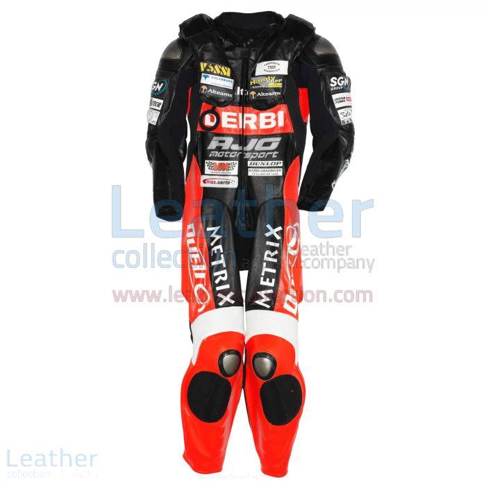 Michi Ranseder Debri GP 2007 Motorbike Suit front view
