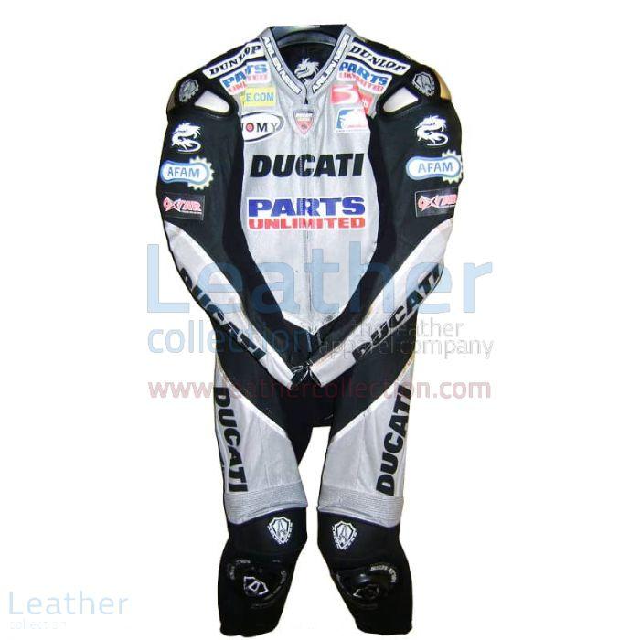 Neil Hodgson Ducati AMA 2006 Leather Suit front view