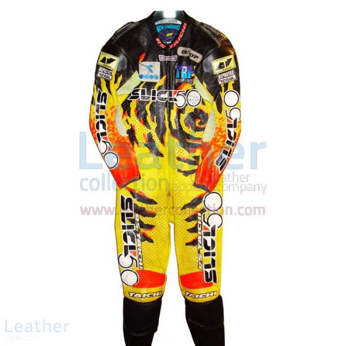 Niall Mackenzie Yamaha GP 1994 Leather Suit front view