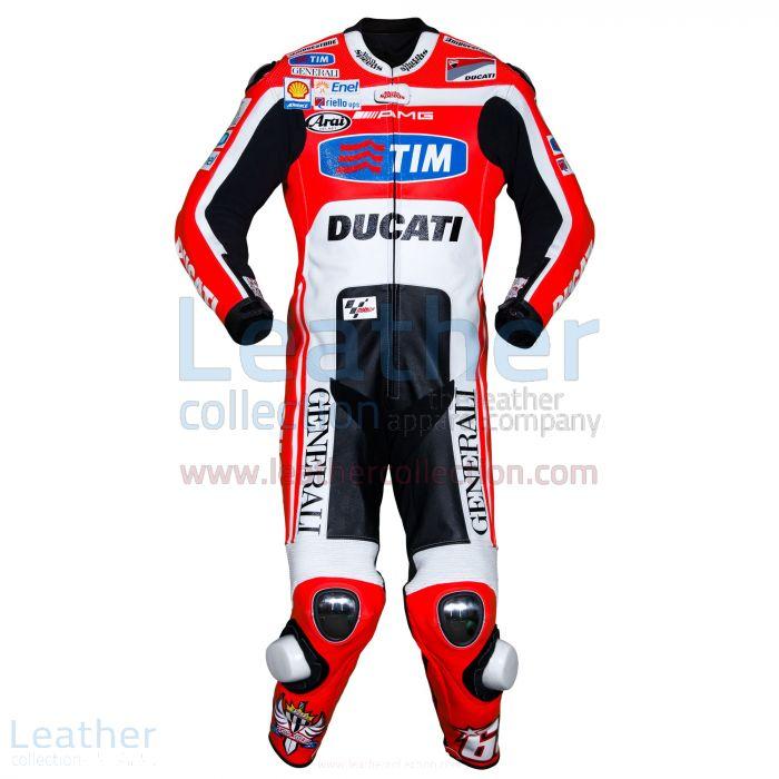 Nicky Hayden Ducati MotoGP 2011 Suit front