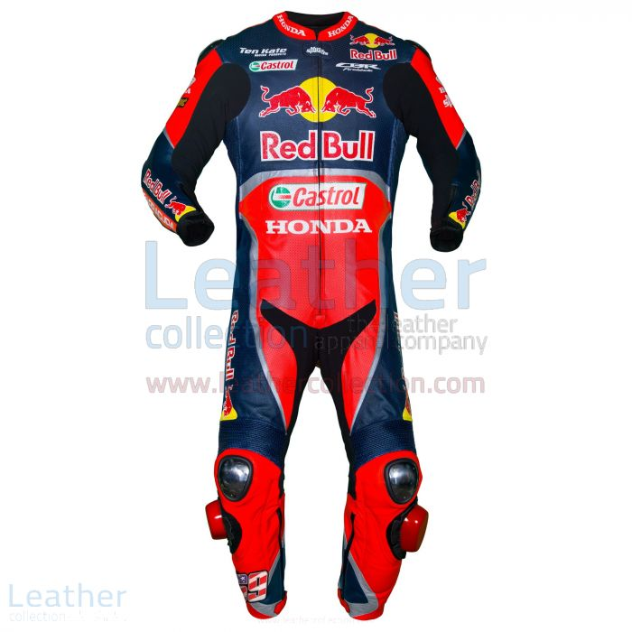 Nicky Hayden Red Bull Honda WSBK 2017 Race Suit front