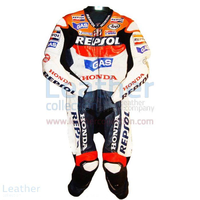 Nicky Hayden Repsol Honda GP 2007 Leathers front