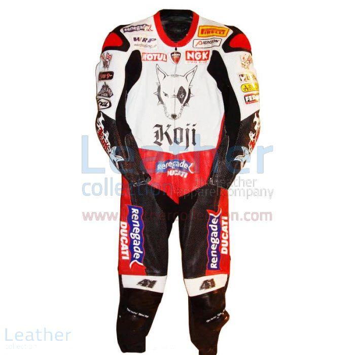 Noriyuki Haga Ducati WSBK 2004 Racing Suit front view