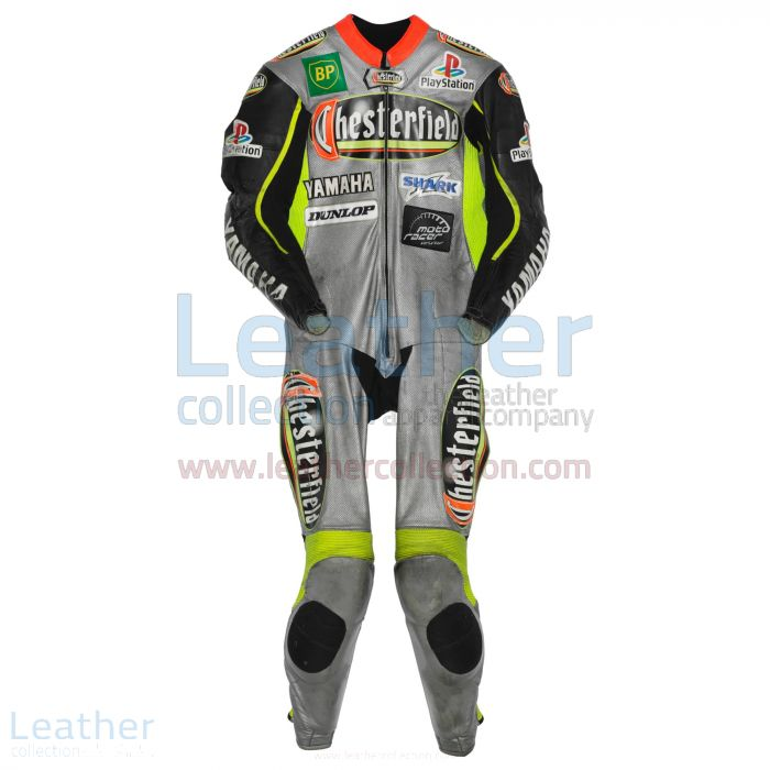 Olivier Jacque Yamaha GP 2000 Leather Suit front view