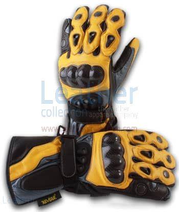 Scorpio Rennfahrer Lederhandschuhe