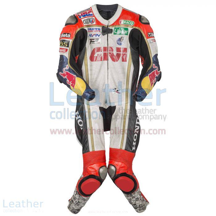 Stefan Bradl Honda 2013 Leather Suit front