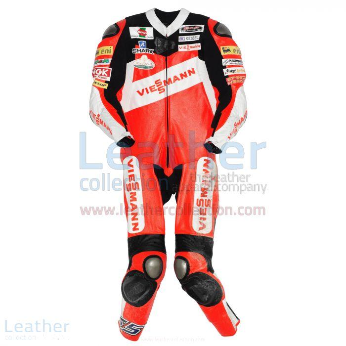 Stefan Bradl Kalex Moto2 2011 Race Suit front view