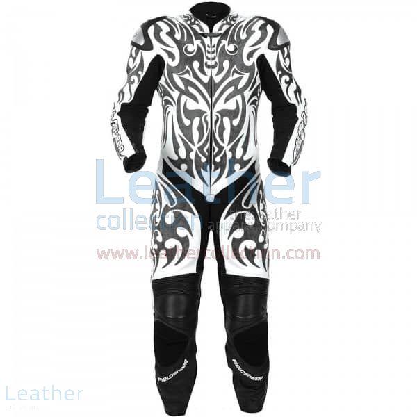 Tatuaggio Tuta Moto in Pelle