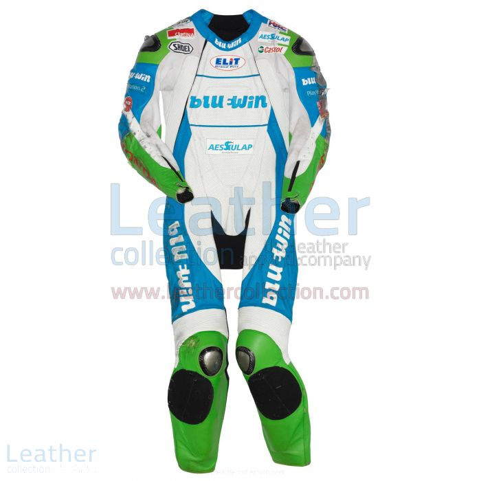 Thomas Luthi Honda GP 2005 Leather Suit front