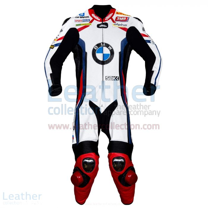 Tom Sykes BMW Motorrad WSBK 2019 Leather Suit front view