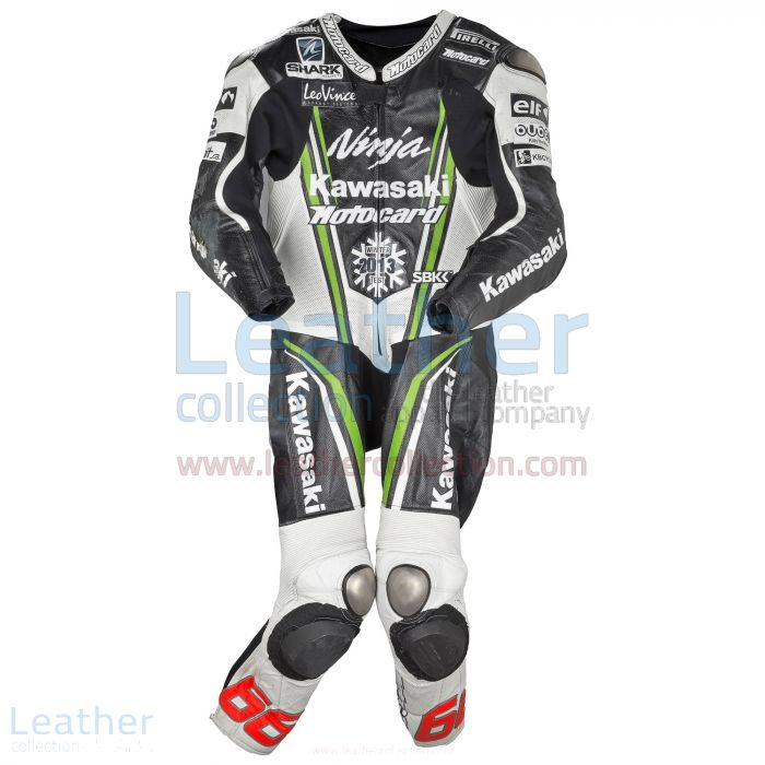 Tom Sykes Kawsaki 2012 Leathers front view