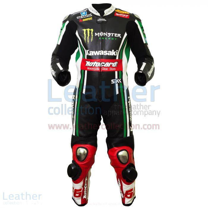 Tom Sykes Kawasaki 2015 MotoGP Corsa Tuta davanti
