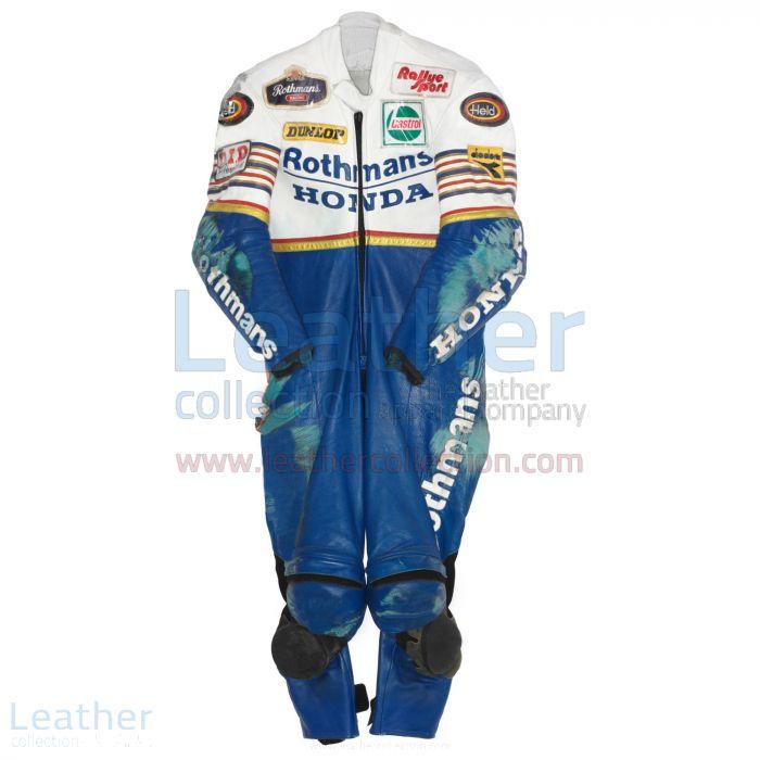 Toni Mang Rothmans Honda GP 1987 Racing Suit front