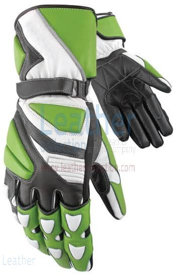 Biker Tourist Gloves Upper and Lower View